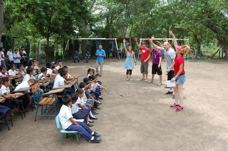 A MAC team serving in Costa Rica.